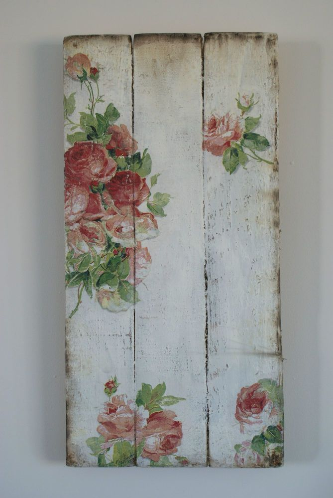 Magnificent 60 shabby chic wall art design decoration of for Shabby chic wall art