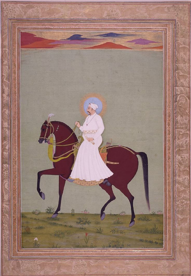 Muhammad Shah, the12th Mughal Ruler, reigned 1719-1748