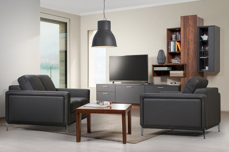 Unorthodox way for modern styl - Arcus collection from Klose. #modernlivingroom #KloseFurniture #Acruscollection