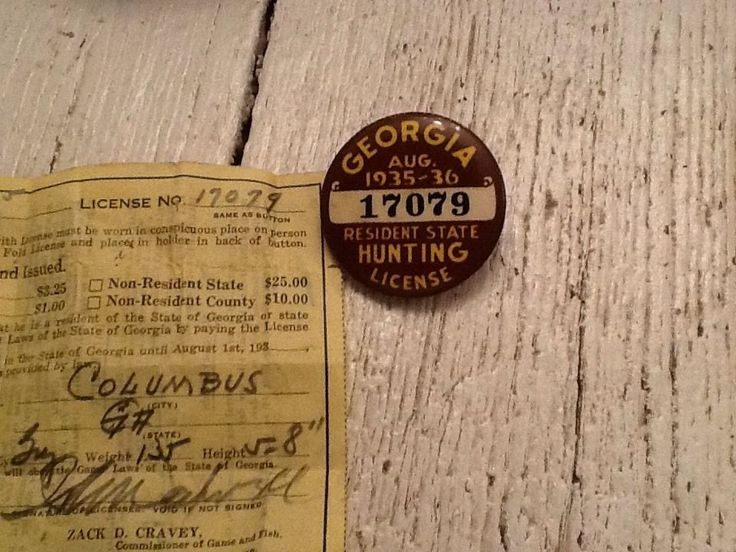 Hunting Licenses