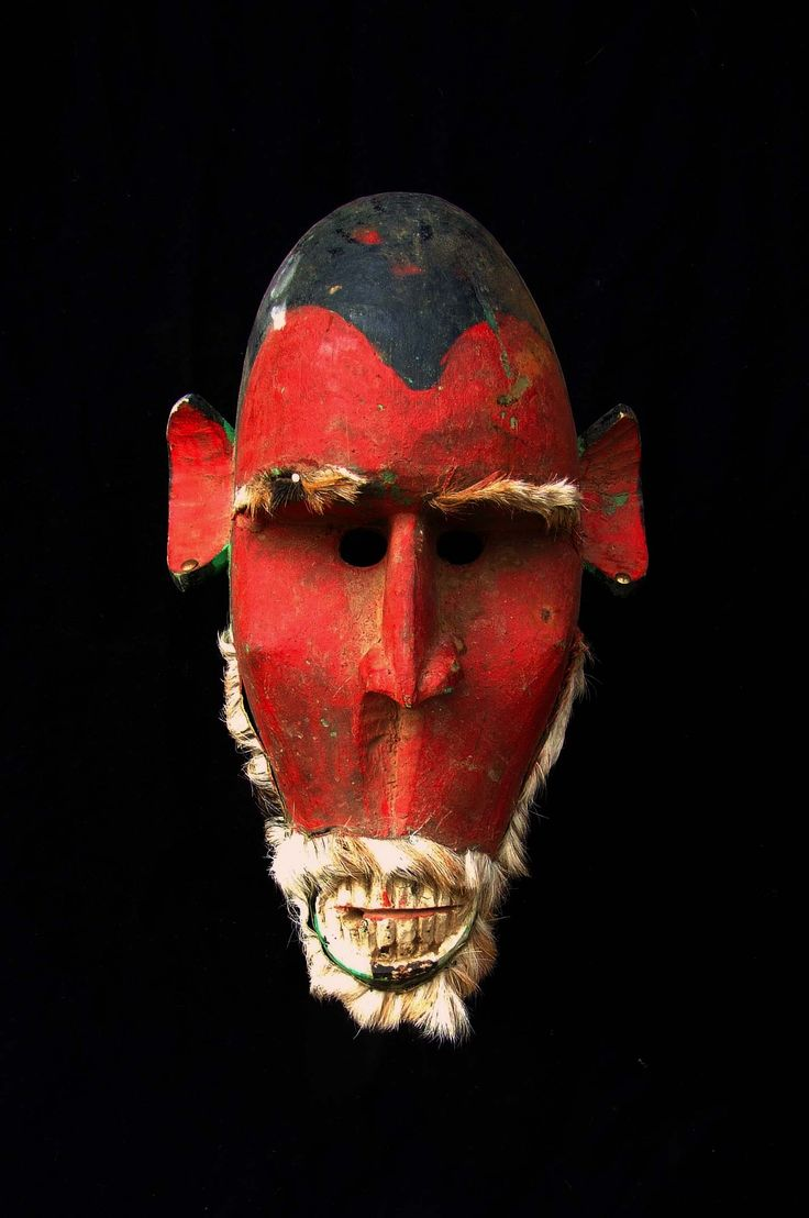 """Masque Bozo - Mali  - Private collection of Stephane Peray - French artist in Bangkok . This mask is featured in the clip of the Avener """"Hate street dialogue"""" at 3:08   www.youtube.com/watch?v=pWUPGe2rMo8"""