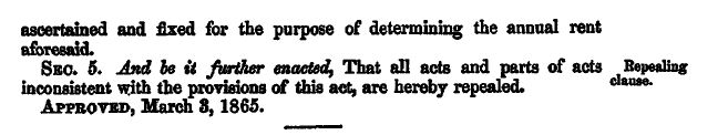 Law Creating the Freedmen's Bureau  CHAP. XC.–An Act to establish a Bureau for the Relief of Freedmen and Refugees.