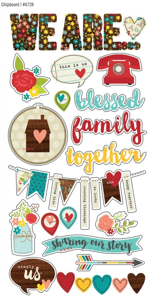 Summer 2015 Reveal Day 4 - We Are...Family | Simple Stories