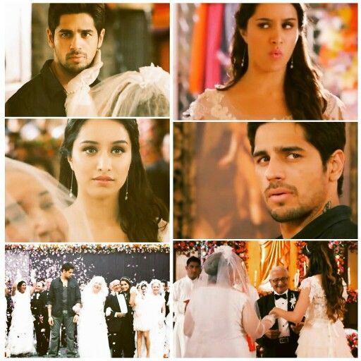Sidharth malhotra and shraddha kapoor as Guru and aisha in ek villain, aisha's wishes to unite two lovers