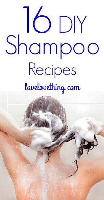 If you're thinking about ditching commercial shampoo, try one of these homemade shampoo recipes!