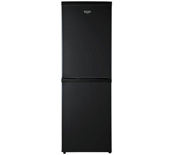 Buy Bush BFFF50152B Fridge Freezer- Black at Argos.co.uk - Your Online Shop for Fridge freezers, Large kitchen appliances, Home and garden.