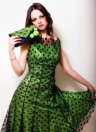 Emerald Green Dress,  Dress, dress  green  lace  wedding  formal  emerald, Chic