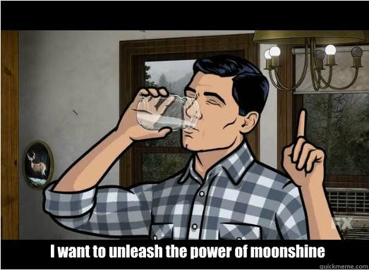 Archer unleashing the power of Moonshine.