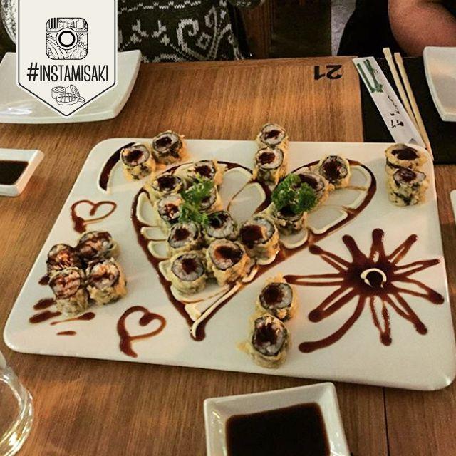 #Sushi #Heart #Cuore #Love #Sushicuore #Sushiheart #Misaki #Pompeii #Pompei #Instasushi