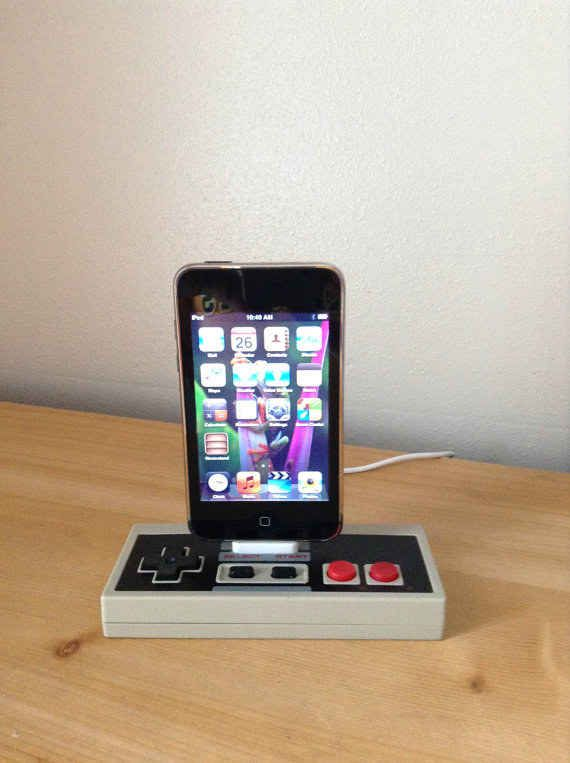 A Nintendo controller charging station: $32