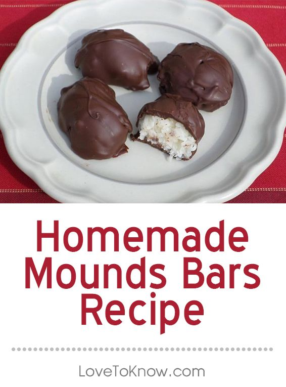 Yum! Can't wait to try these homemade Mounds Bars! #recipe