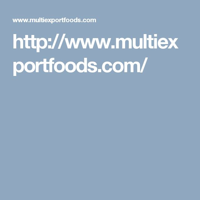 http://www.multiexportfoods.com/