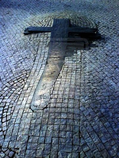 Memorial to Jan Palach and Jan Zajíc, Wenceslas Square, Prague