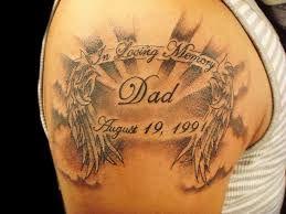 Image result for memorial angel tattoos designs