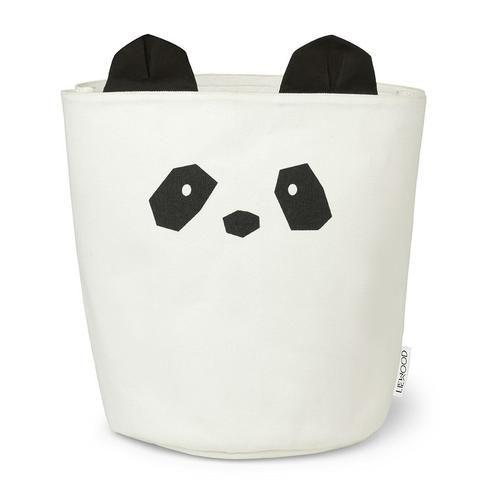 Ella Oppbevaringskurv Panda - LIEWOOD