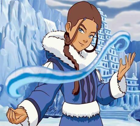 KataraAir Bender, Waterbending Katara, Water Bender, Character Avatar, Airbender Legends, The Last Airbender, Waterbending Parties, Team Avatar, Avatar Th