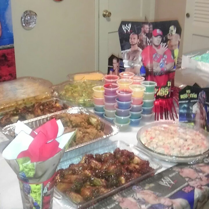 Wwe Birthday Party Cake Ideas And Designs