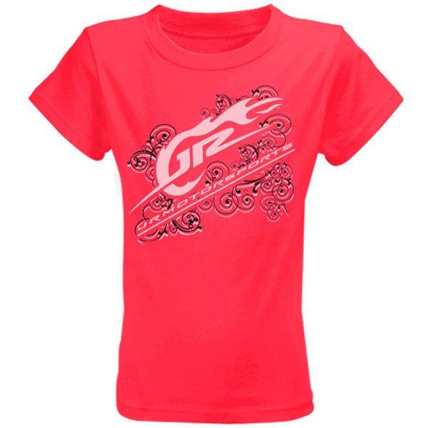 JR Motorsports Youth Girls T-Shirt - Pink - $7.99
