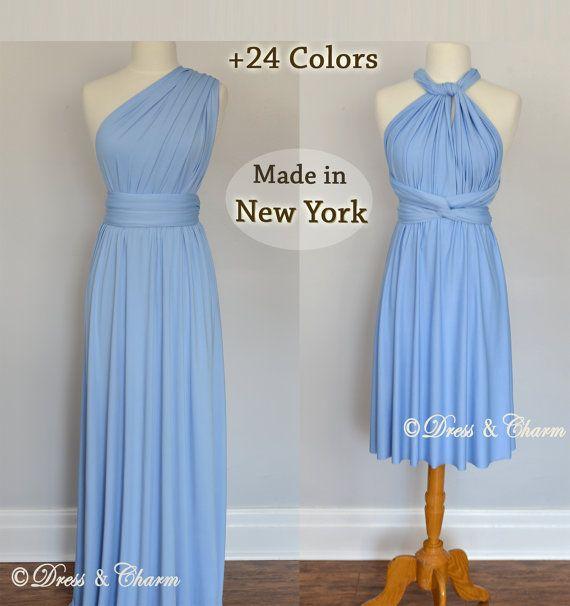 Vestido de Dama de honor infinito azul de por justDressAndCharm