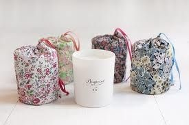 Liberty pouches for Bonpoint candles