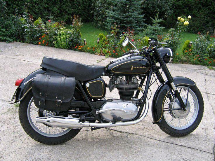 Junak Polish 1970's motorcycle. my father's vintage bike. rj
