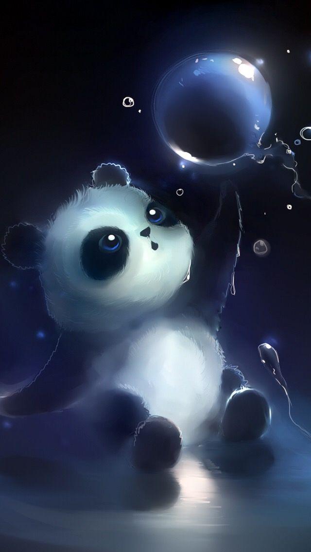 Pin By Maegan Angel On Hverdagen Panda Art Panda Wallpapers Panda Background