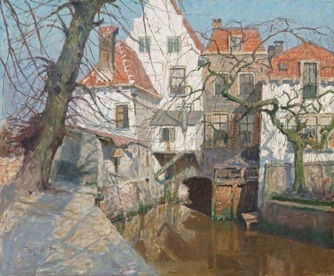 Hendrik Jan Wolter | Oude huizen te Amersfoort
