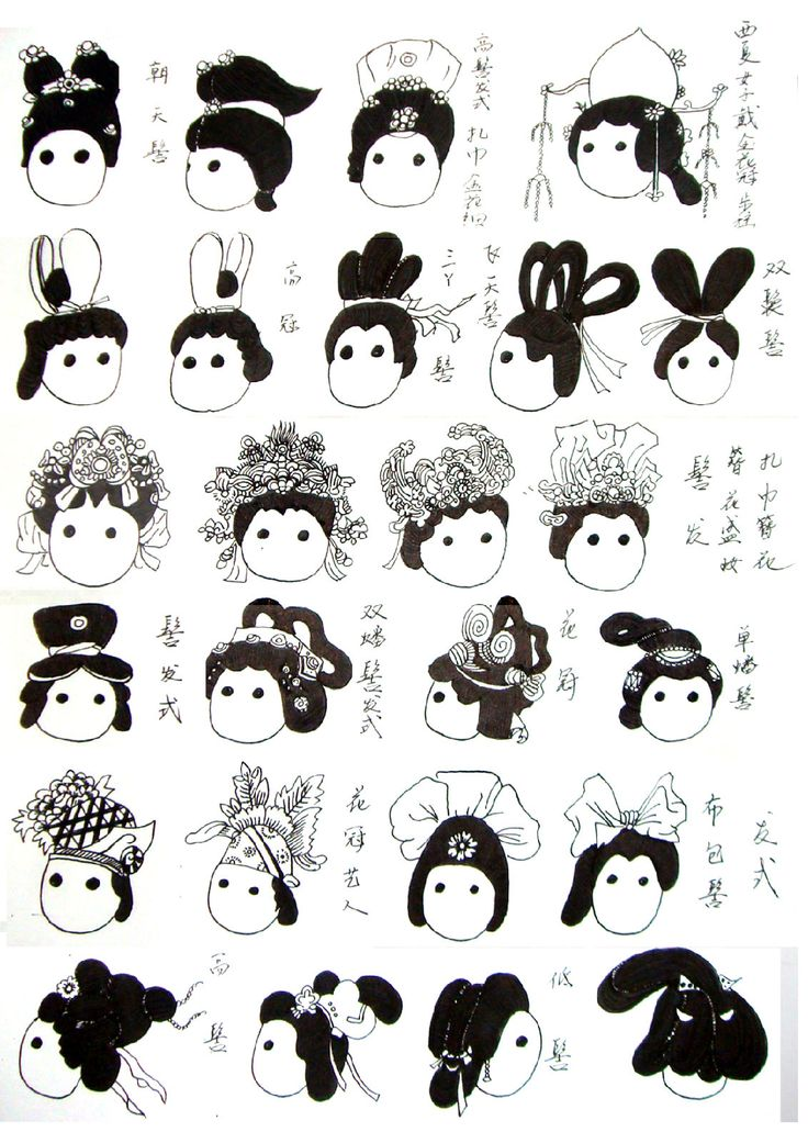 how to make chinese hair bun covers