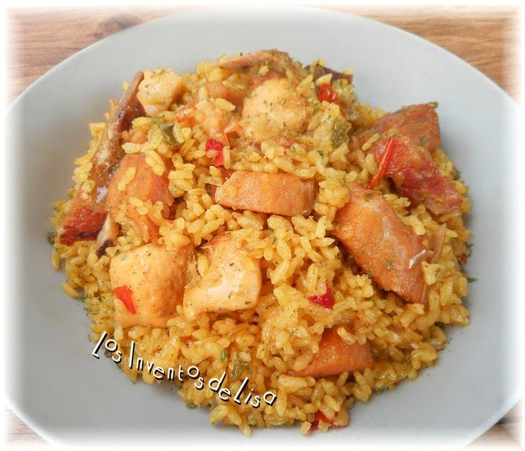 Les sigo compartiendo diversas recetas de arroz   que tanto me han pedido por aquello de salir de la rutina.     Este en particular me lo...