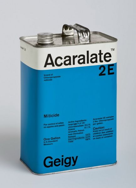 Geigy packaging, Markus Löw, 1967