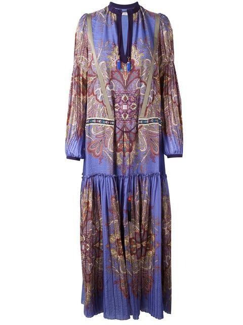 ETRO  paisley print maxi dress  $4,220