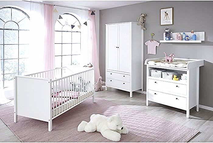 Ole Chambre Bebe Complete Lit 70 140cm Armoire Commode