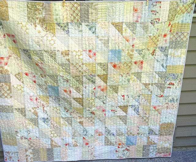 Low Volume Quilt by Lettyb, via Flickr