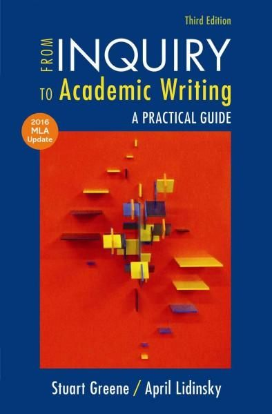 from inquiry to academic writing pdf