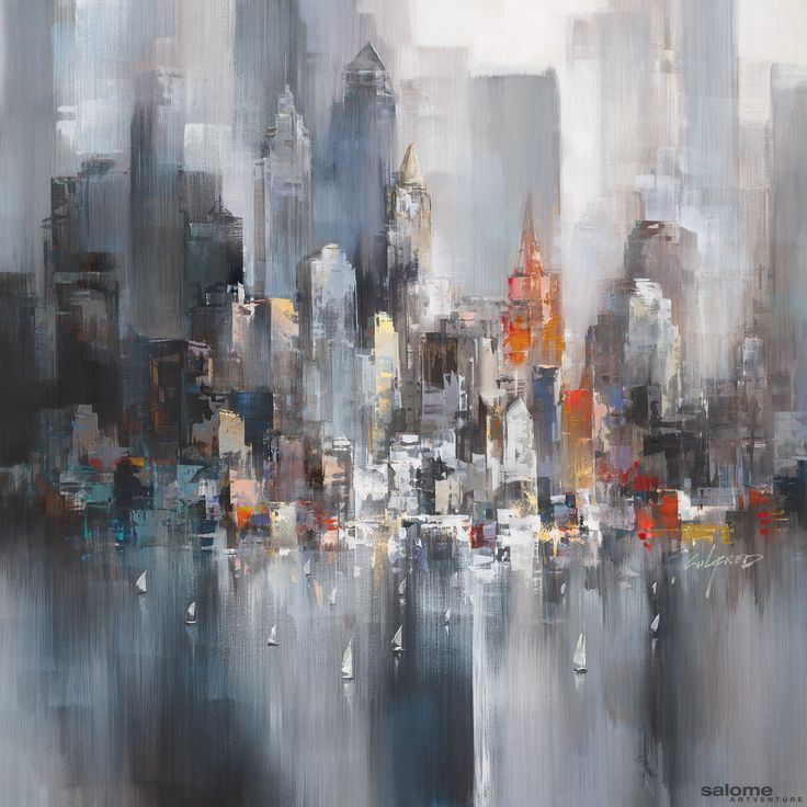 Watercolor New York: 0031 By Wilfred Lang. Painting