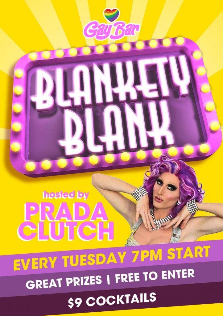 Gruubi • Play - LGBTQ Events: Blankety Blanks Every Tuesday. The Gay Bar: 231 Oxford St Darlinghurst. January 14, 2014.