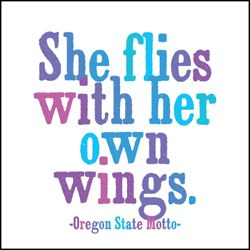 - oregon state motto