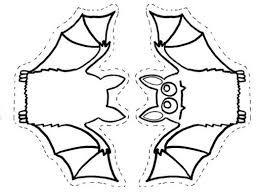 Afbeeldingsresultaat voor halloween knutselen vleermuis