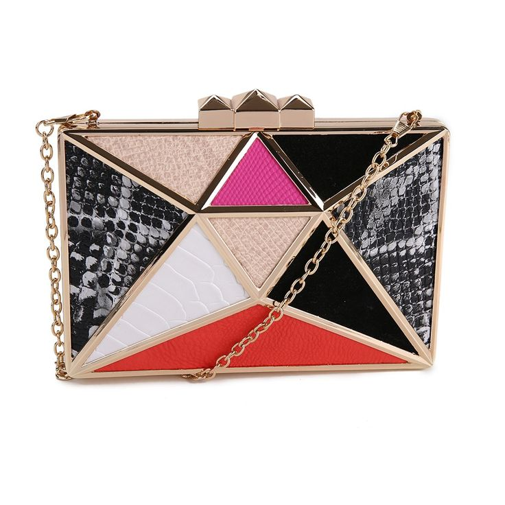 "All the up town funk you could ever look for in a clutch! Show this one off in town all night  ""Vikki"" from www.Borsetta.london xx Hols xx"