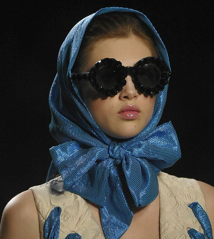 Fashion & Lifestyle: General Eyewear for Victor & Rolf Spring 2012 Womenswear