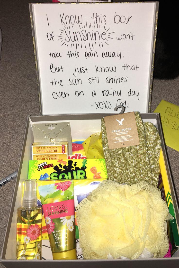 Care Package For Grieving Friend Good Idea Friend