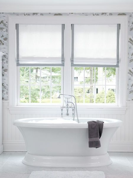 Roman blinds are highly practical window treatments. There are so many essential places where these shades or blinds should be seriously considered. The bathroom, a bay window or in a dormer window are all great places to fit a Roman blind. Click through to find out the other 7 places where your home would function better with a Roman blind.