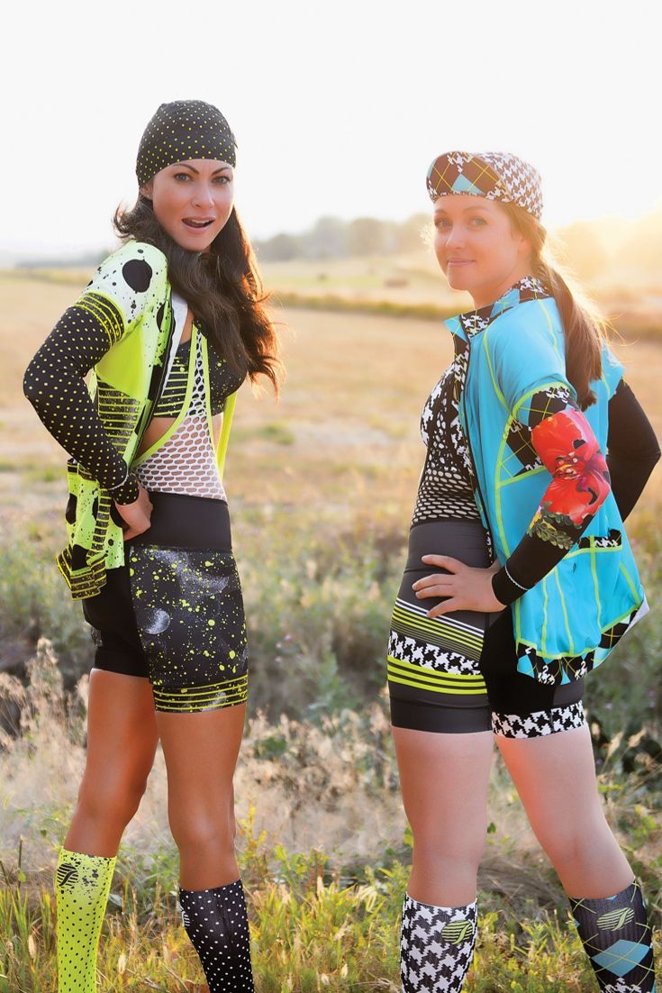 Womens Cycling Clothing- Shebeest. Fun, unique patterns for the beest in you! Our kits are perfect for indoor cycling, outdoor cycling, or triathlon clothing!