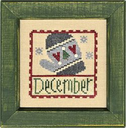 December Stamp Flip-It model from Lizzie Kate