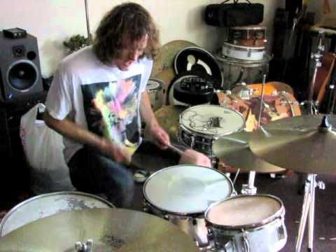 This is my type of erotica. Sick drumming. Zach Hill practicing February 2011