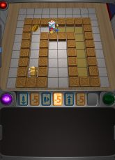 Looks like a good app to teach beginning programming.  From LeapFrog  My Robot Friend - App Review