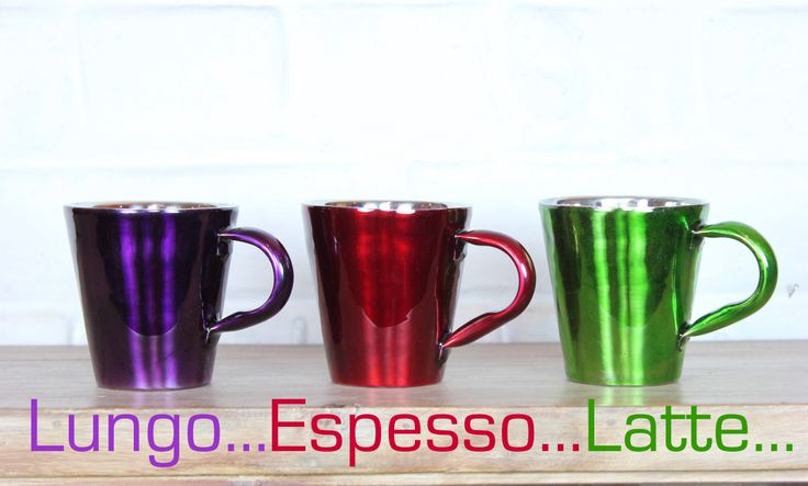 Nespresso never tasted so good - get one of the mood mugs from Tiffinware & match your coffee