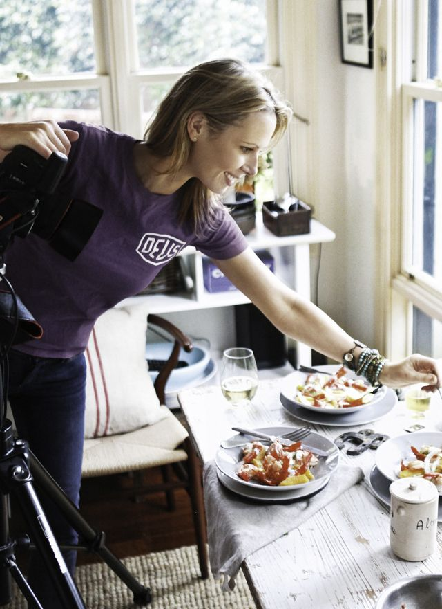 What Katie Ate. Photographer, Katie Quinn Davies, documents and crafts meals to a restaurant level.