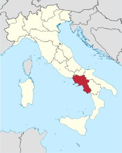 Pompeii is in the campania region of italy located on the italian peninsula with mediterrenea sea west includes small phlegraen islands and capri.it is now the most densely populated region in the country. Camania was colonized by ancient greeks was part of magna Graecia maintaining greco-roman culture during roman era. campania derived from latin the romans knew the region as campania felix = fertile countryside.