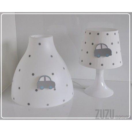 Lampy z samochodem